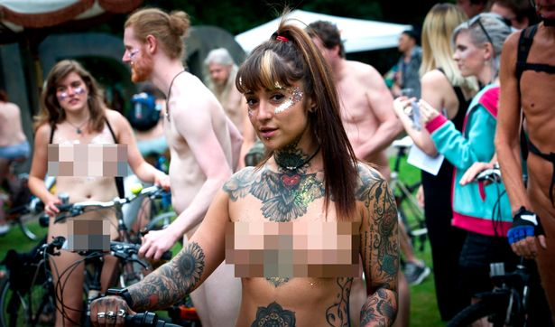 Motorcycle events nude pictures