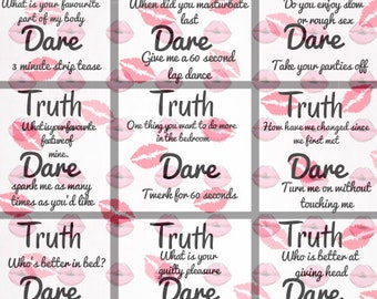 Sexual truth or dare questions