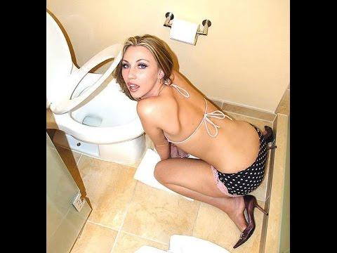 Girl getting golden shower