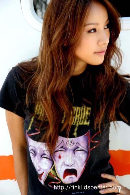 Lee hyori hair brown