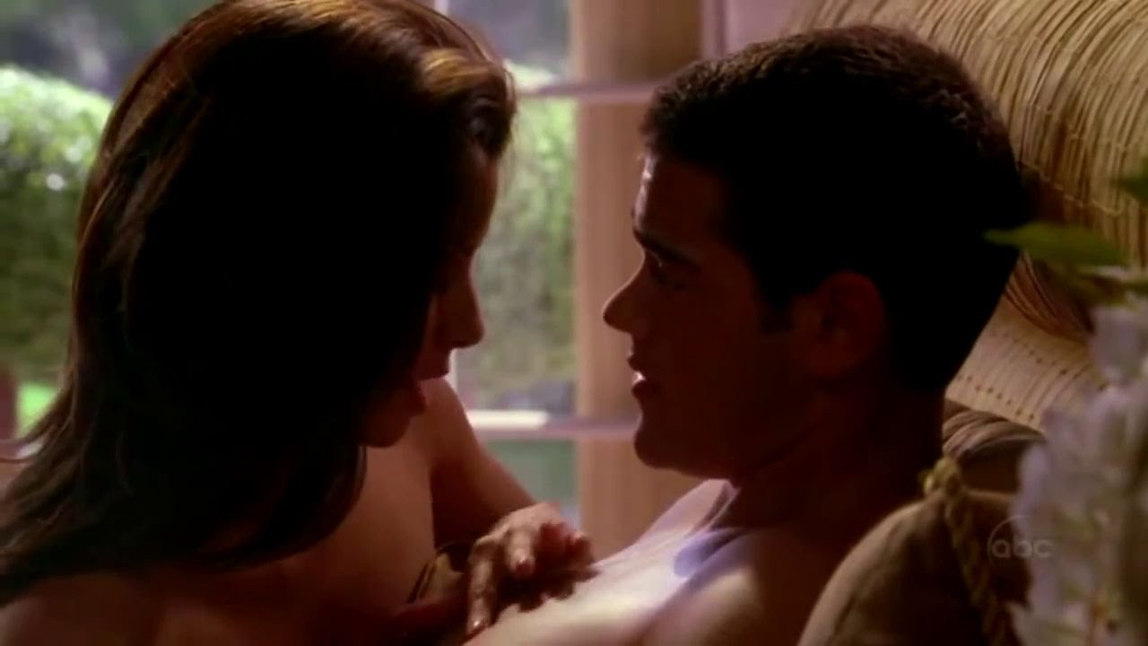 Sex scene on desperate housewives