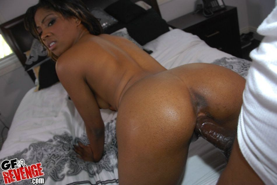 African girl naked cum