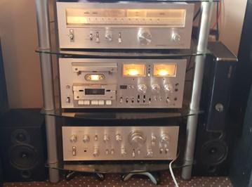 Vintage hifi equipment listing