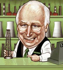 Dick cheney bechtel halliburton