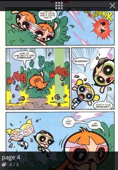 Powerpuff girls comic strips