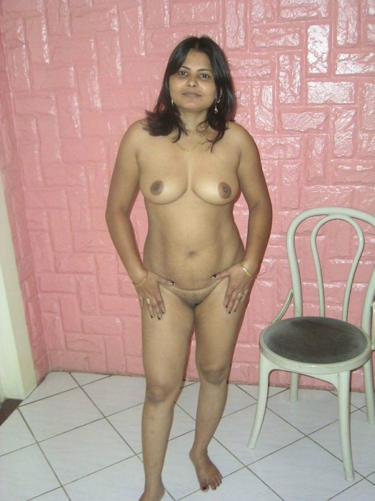 Indian women standing naked