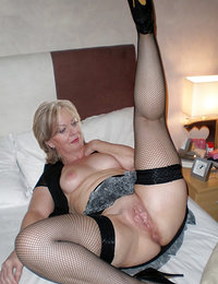 Horny beautiful mature women