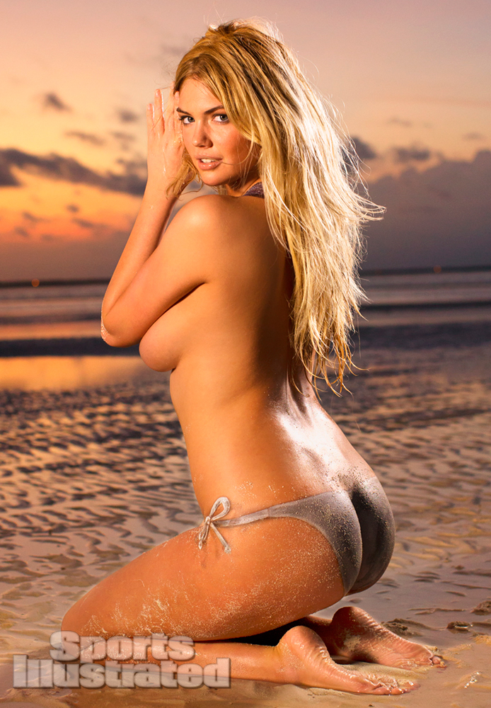 Kate upton body paint naked