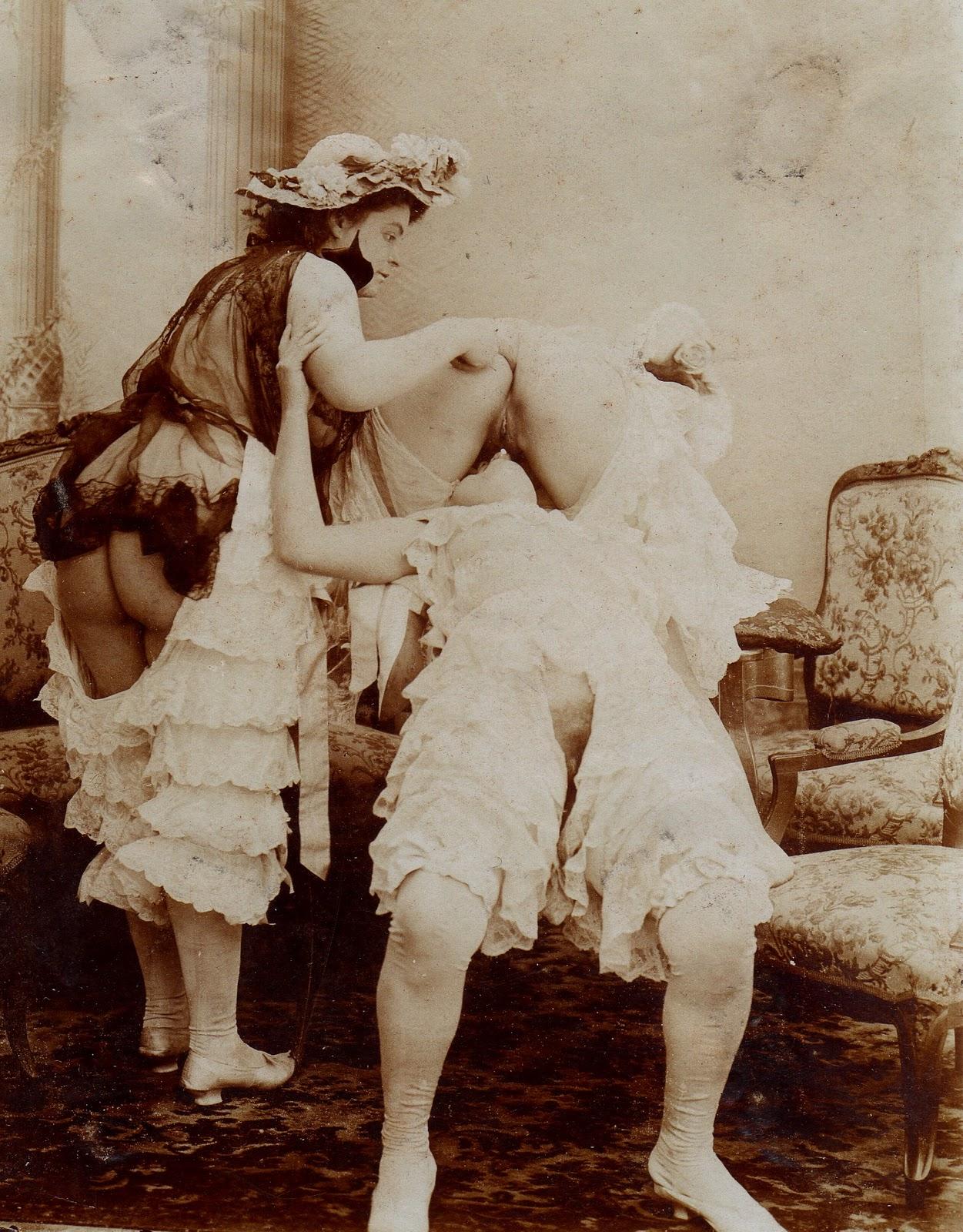 Vintage victorian era porn