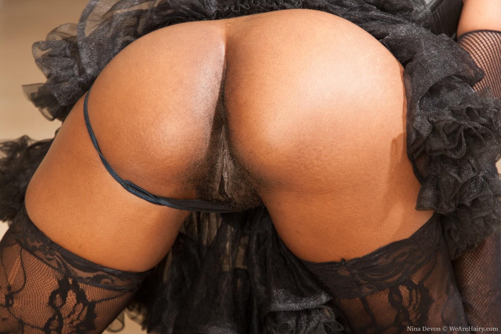 Fine black big assand pussy