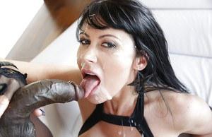Hot black naked woman