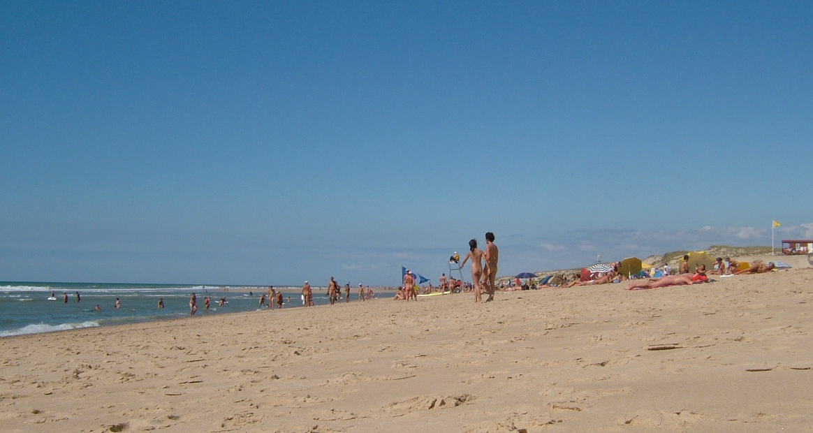 Montalivet beach, beach france nude