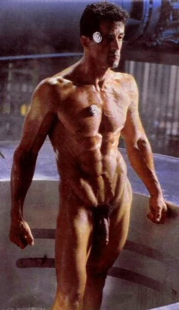 Sylvester stallone naked pic.