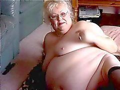 Mature bbw fat belly grannies