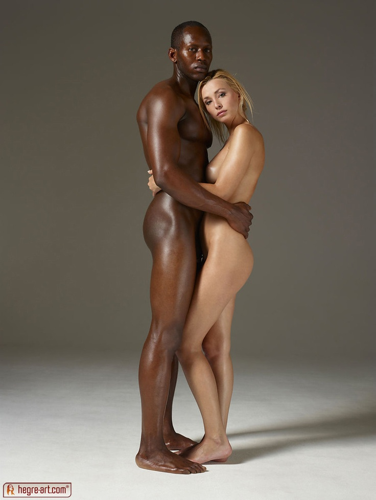 Girl black the men nude sexy
