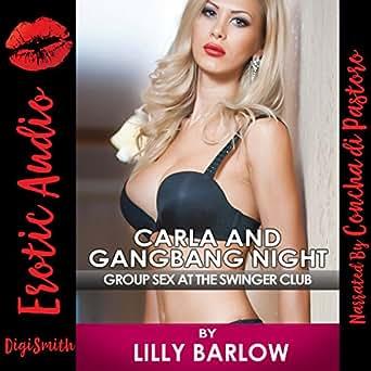 Swingers club gangbang queen