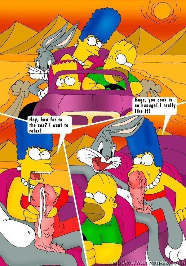 The simpsons nude pic