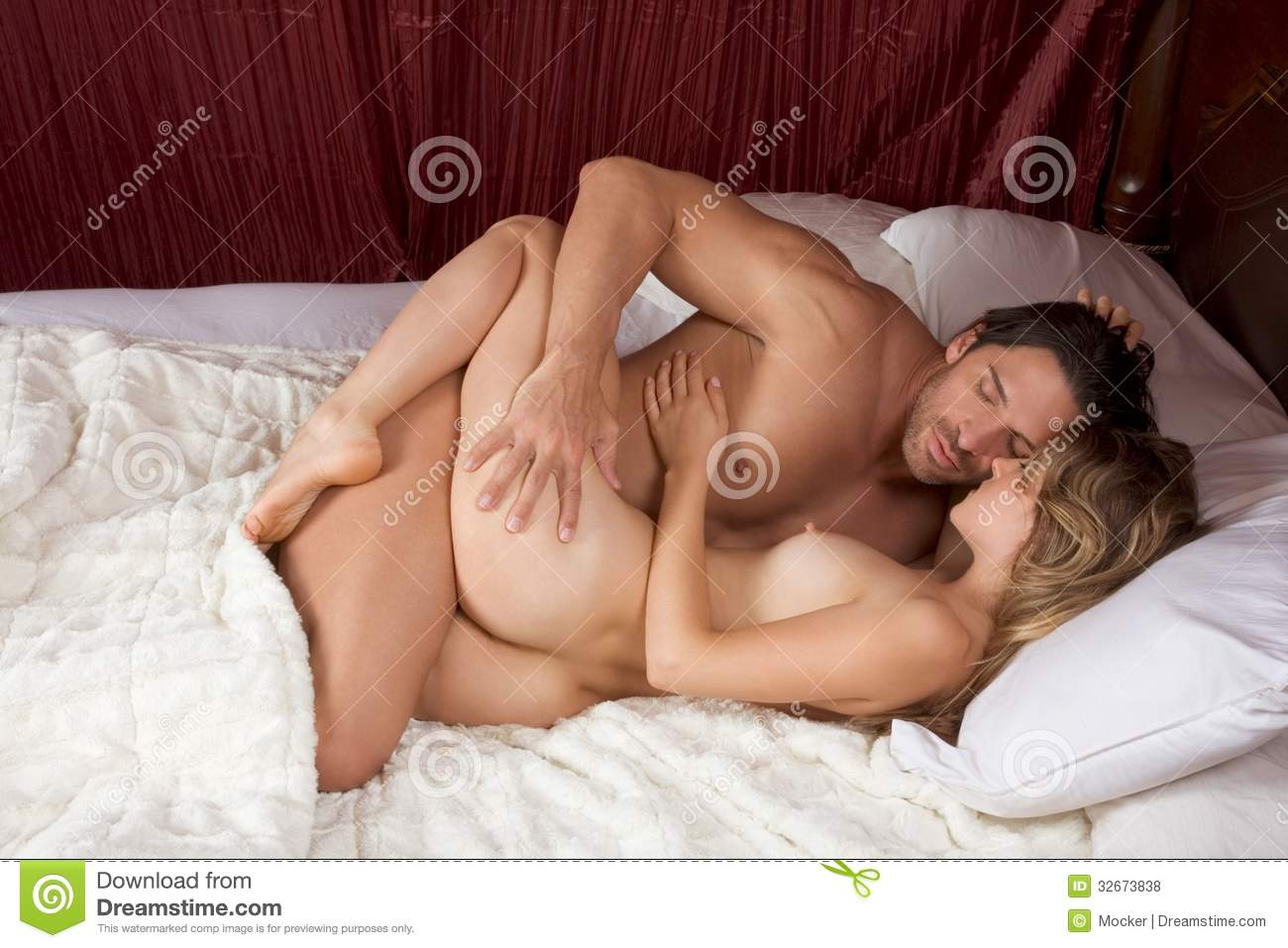 Naked couple doing hot sex