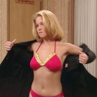 Bikini christina applegate black