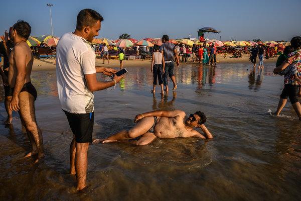Indian woman nude beach