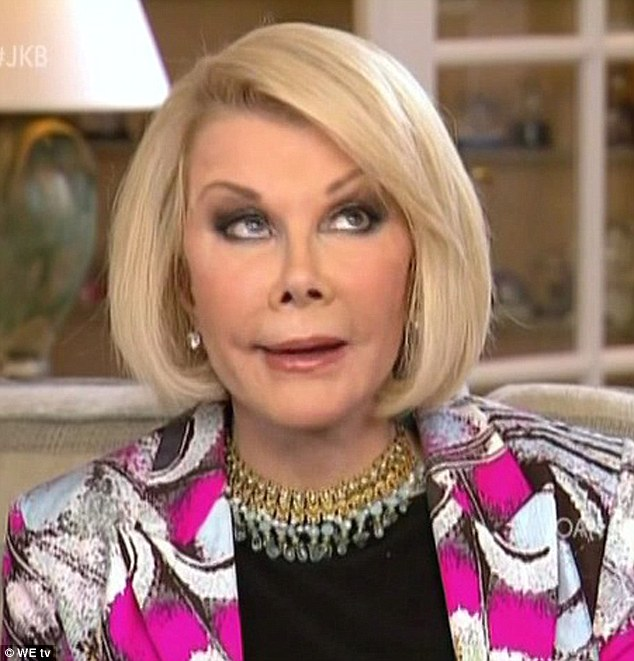 Joan rivers naked nude pussy