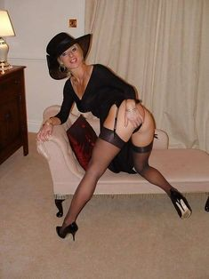 British amateurs wearing stockings