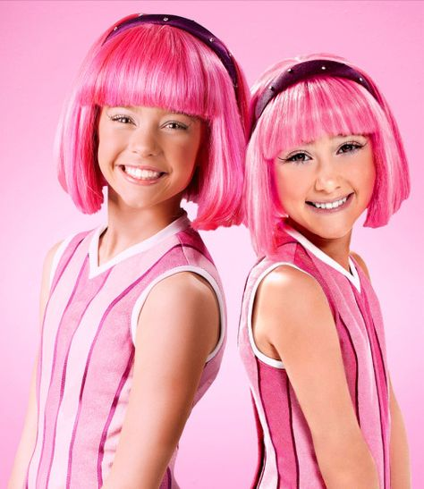 New lazy town stephanie chloe lang