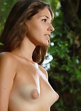 Hairy tan lines puffy nipples