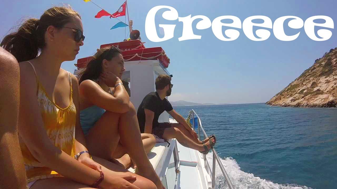 Greece beach woman nude