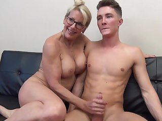 Son mature her mom fucks