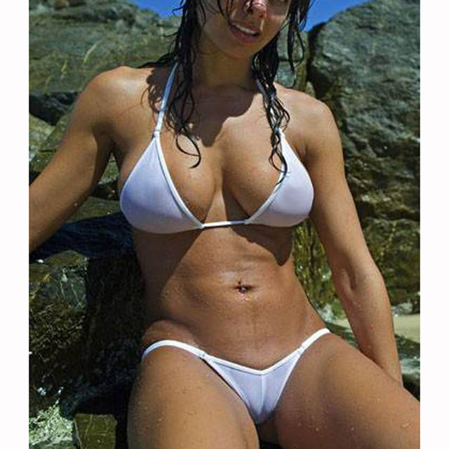 Micro bikini see thru photos