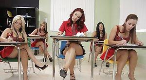 Pretty teacher pussy fuck