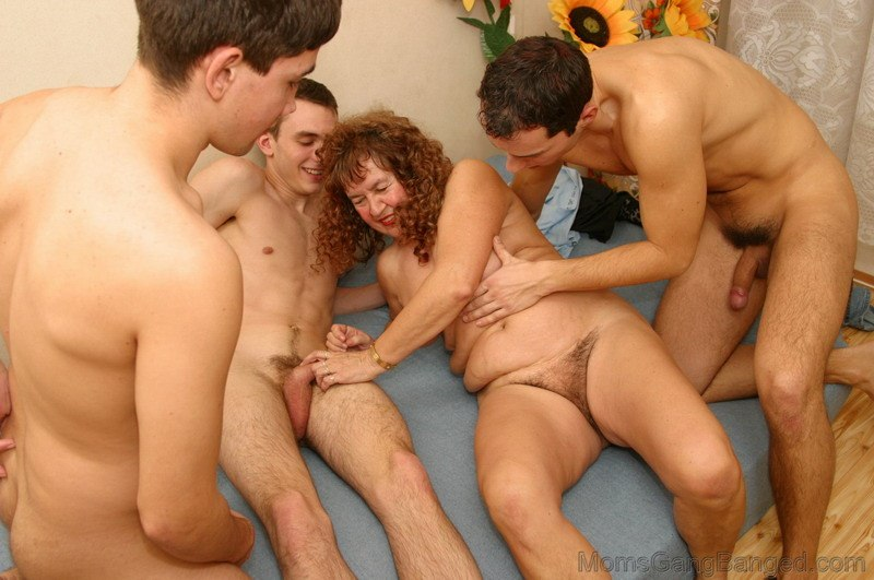 Mom dad and son nude