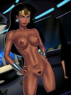 Woman comic wonder porn dc