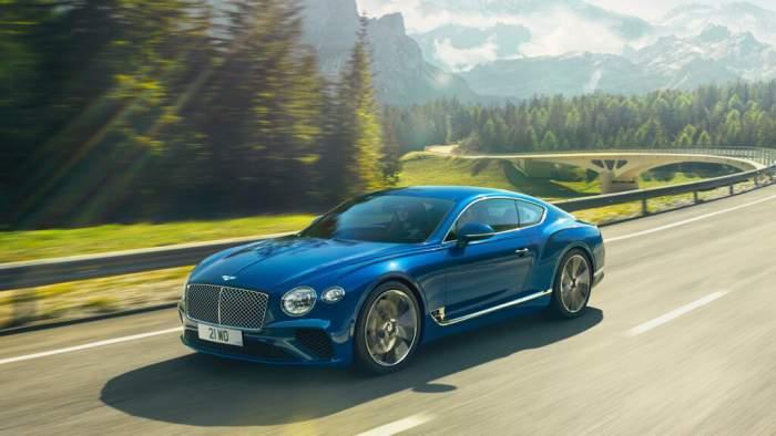 Bentley race robbie price