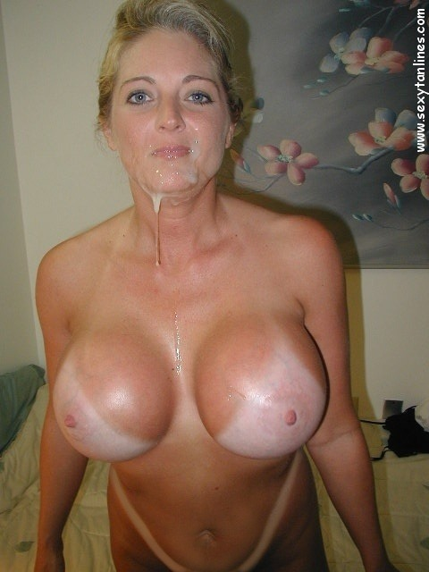 Hot sexy milf with tan lines dana