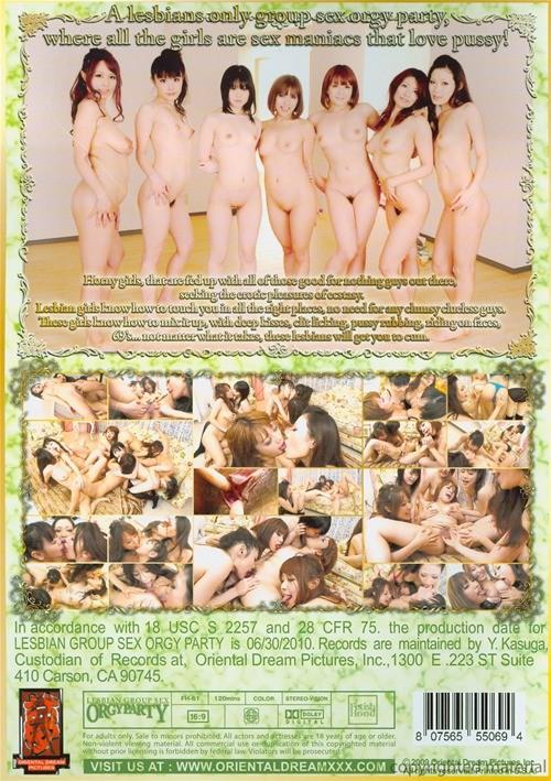 Lesbians group sex parties