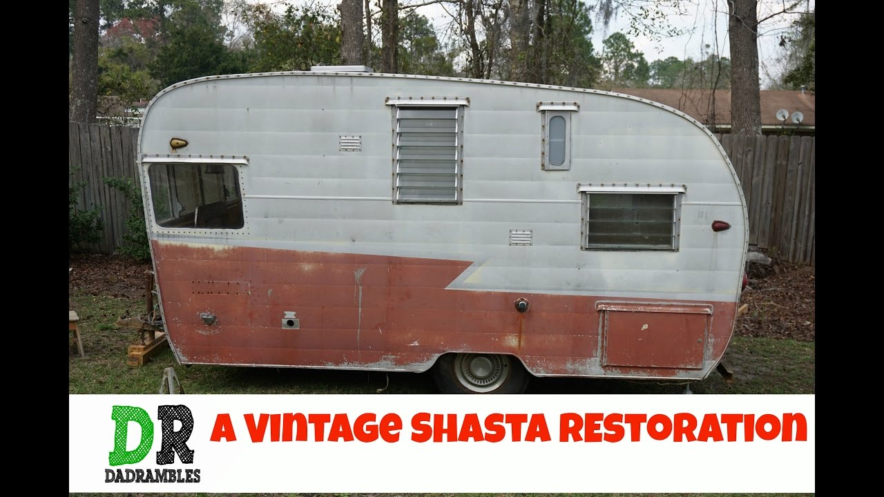 Vintage travel trailers shasta