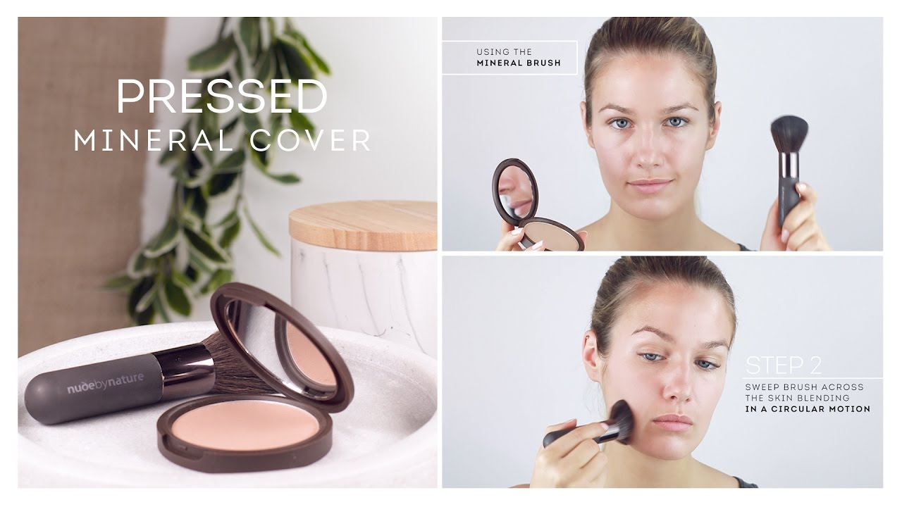 Nude by nature mineral powder