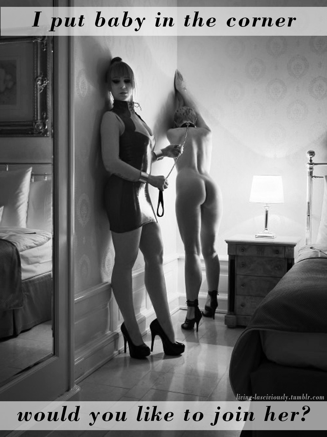 Black and white threesome tumblr
