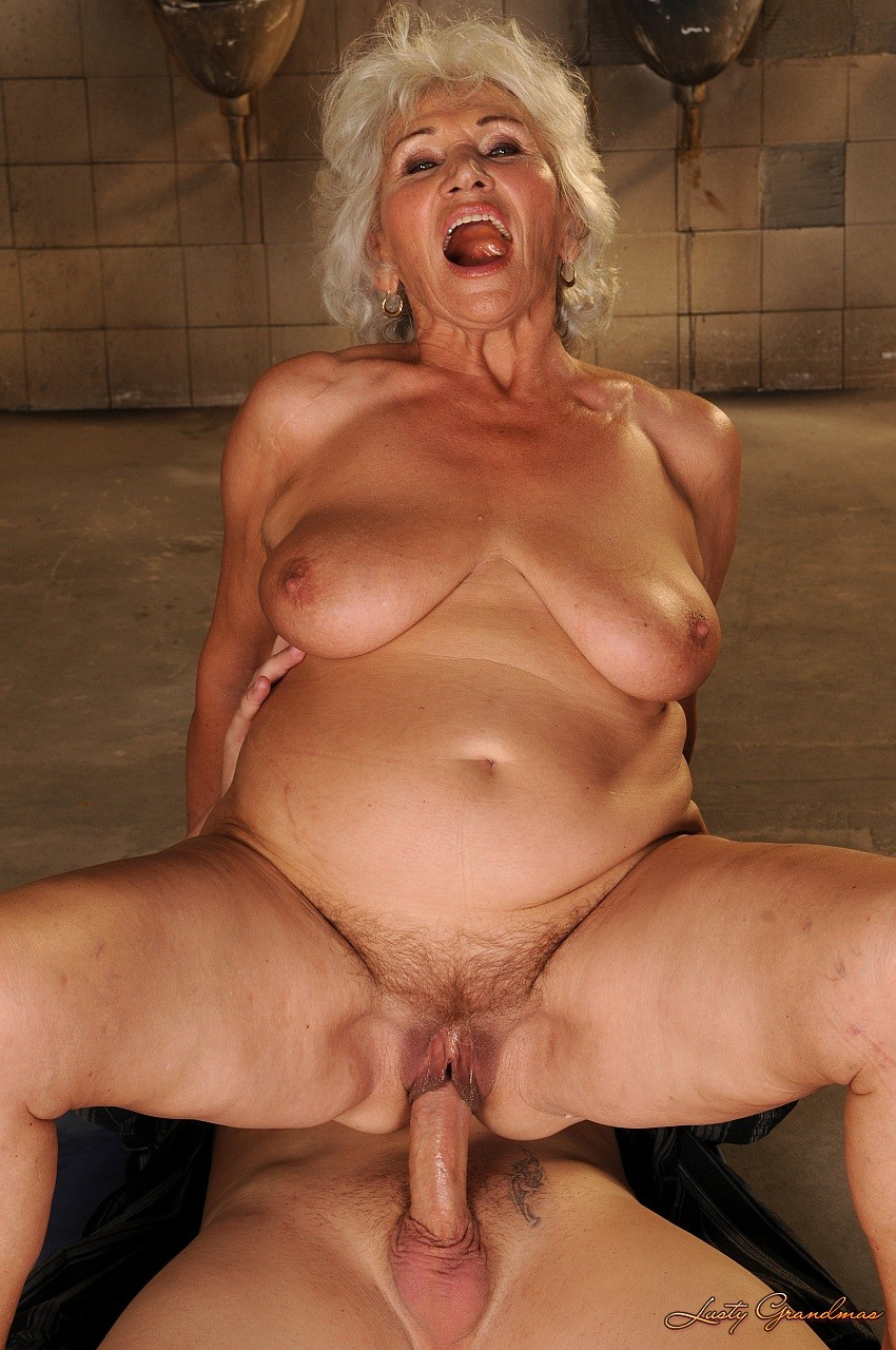 Older busty granny norma