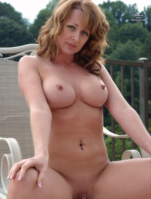 Red heads with hard nipples