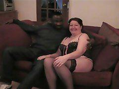 Interracial mature tube porn