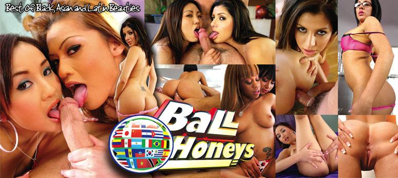 Honeys ebony bros ball bang