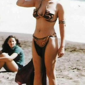 Carrie fisher nude pussy