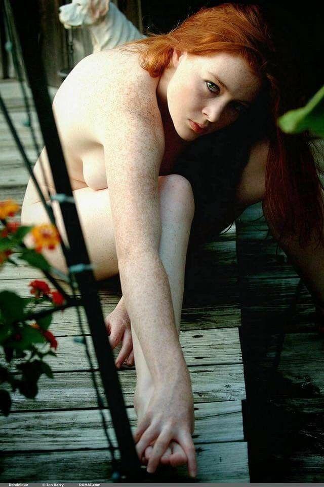 Nude redhead dominique domai
