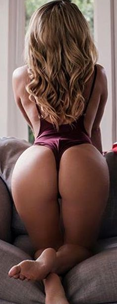 Perfect ass in panties bend over