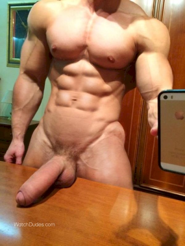 Large cock penis man nude