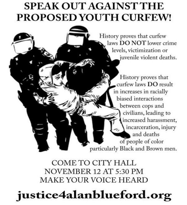 Teen age curfews in cities