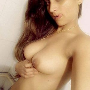 Hot girl nude selfie indian